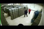 Video - Domino mit Schließfächern