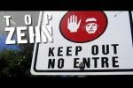 Video - 10 verbotene Orte