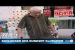 Video - Ausverkauf bei Schlecker - Opa bunkert Klopapier