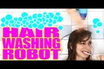 Video - Haarwasch-Roboter