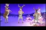 Video - Santa und seine Rentiere
