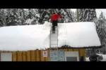 Video - Das Dach von Schnee befreien