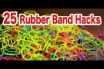 Video - 25 Life Hacks mit Gummibändern