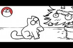 Video - Simon's Cat in 'Santa Claws'