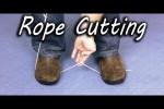 Video - Seil schneiden ohne Schere