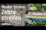 Video - Realer Irrsinn: Entfernte Zebrastreifen für mehr Sicherheit - extra 3