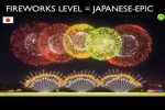 Video - Japanisches Silvester-Feuerwerk