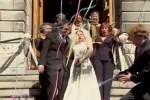 Video - versteckte Kamera - das Hochzeitskleid einsauen