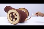 Video - Domino-Effekt bei Streichhölzern