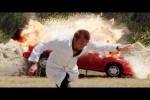 Video - Auto Explodiert - Slow-Motion Aufnahme