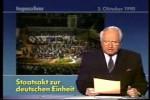 Video - Tagesschau vom 3.10.1990
