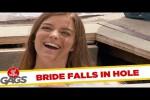Video - Versteckte Kamera - Braut fällt in ein Loch
