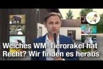 Video - Welches WM-Tierorakel hat Recht? Das Sportillon-Tierorakel findet es heraus