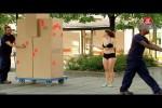Video - Versteckte Kamera - schneller Kleider-Wechsel