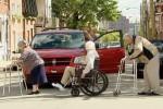 Video - versteckte Kamera - Rentner auf der Strasse