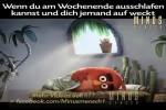 Video - Ausschlafen am Wochenende