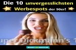 Video - Die 10 unvergesslichen Werbespots