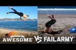 Video - People are Awesome vs FailArmy - Yoga Ball Tricks & Flips