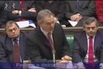 Video - Gordon Brown picking his nose