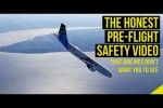 Video - The Honest Pre-flight Safety Demonstration Video That Airlines Are Afraid to Show You