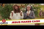 Video - versteckte Kamera: Jesus vermehrt das Geld der Sparbüchse