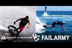 Video - Water Jet Pack Wins Vs. Fails & More! | People Are Awesome Vs. FailArmy