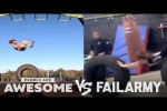 Video - Tire Flips & More - People Are Awesome Vs. FailArmy