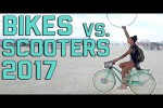 Video - Bikes vs. Scooters: War of the Wheels