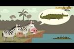 Video - Zebra version. Wildebeest from Birdbox Studio. Fake news
