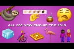 Video - Alle 230 neuen Emojis 2019