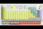 Video - Lifehack: Einfacher MERKSATZ, um alle Elemente des Periodensystems auswendig zu lernen