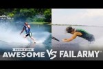 Video - Barefoot Waterski & More Wins Vs. Fails - - People Are Awesome VS. FailArmy