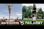 Video - People Are Awesome vs. FailArmy - Cheerleading, Weightlifting, Surfing & More