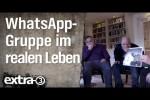 Video - WhatsApp-Gruppenchat im wirklichen Leben
