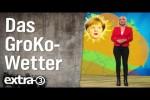 Video - Das GroKo-Wetter mit Janin Ullmann - extra 3