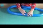 Video - Super Weihnachtskranz selber gebastelt