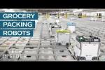 Video - Lebensmittelbestellungen von Robotern rausgesucht