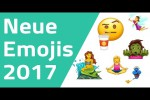 Video - Alle neuen Emojis 2017
