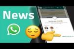 Video - WhatsApp: animierte Sticker, Gruppenschutz, neue Emojis und weitere News