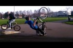 Video - beste, böse Fahrrad-Hoppalas