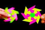 Video - Fidget Spinner aus Papier selber basteln