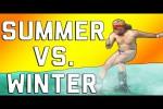 Video - Lustige Summer vs. Winter Fails
