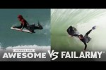 Video - People Are Awesome vs. FailArmy: Body Surfing, Skiing, Weightlifting & More