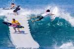Video - Surfen mit einer schwimmenden Plattform