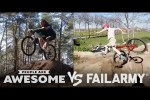 Video - Biking, Skateboarding & More | People Are Awesome Vs. FailArmy