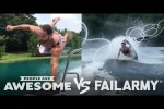 Video - Wake Surfing Wipeouts & More - People Are Awesome Vs. FailArmy
