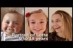 Video - Beim Wachsen zusehen: Vater filmt Tochter 18 Jahre lang