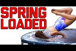 Video - Funny Spring Loaded & Trampoline Fails