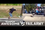 Video - Skateboarding, Skiing & More - People Are Awesome Vs. FailArmy