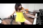 Video - Mädchen spielt drei Instrumente
